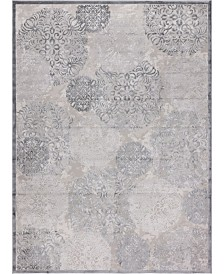 "Bridgeport Home Aitana Ait3 Gray 10' 4"" x 14' Area Rug"