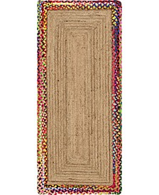 Global Rug Design Chindi Border Chb2 Natural Area Rug Collection