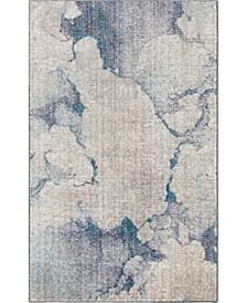 "Prizem Shag Prz4 Blue Gray 3' 3"" x 5' 3"" Area Rug"