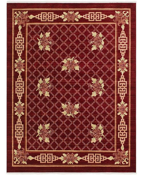 Bridgeport Home Sahil Sah5 Red 8' x 10' Area Rug
