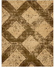 Thule Thu4 Brown 9' x 12' Area Rug