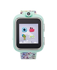PlayZoom Kids Smartwatch with Tie Dye Unicorn Printed Strap