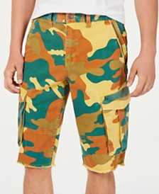 GUESS Men's Camo Cargo Shorts