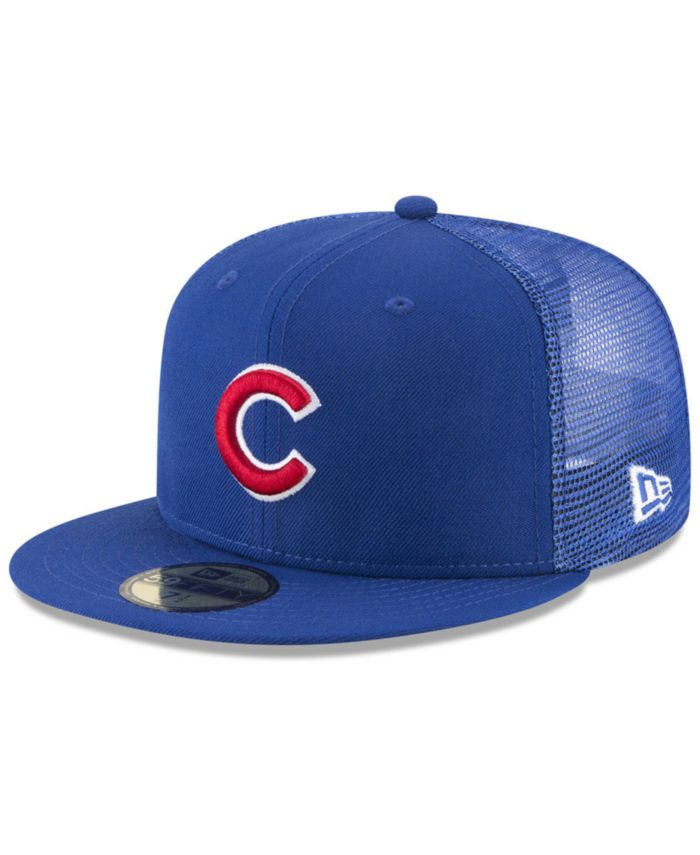 New Era Chicago Cubs On-Field Mesh Back 59FIFTY Fitted Cap & Reviews - Sports Fan Shop By Lids - Men - Macy's