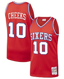 Mitchell & Ness Men's Maurice Cheeks Philadelphia 76ers Hardwood Classic Swingman Jersey