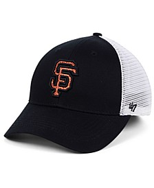 Women's San Francisco Giants Branson Glitta Trucker Strapback Cap