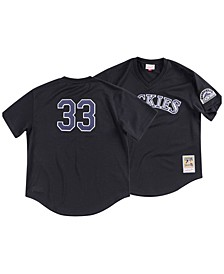 Men's Larry Walker Colorado Rockies Authentic Mesh Batting Practice V-Neck Jersey