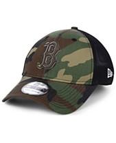 8c33dbe6 New Era Boston Red Sox Camo Trucker 39THIRTY Cap