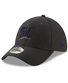 New Era Milwaukee Brewers Graphite Pop 39THIRTY Cap