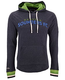 Mitchell & Ness Men's Seattle Sounders FC Lightweight Hooded T-Shirt