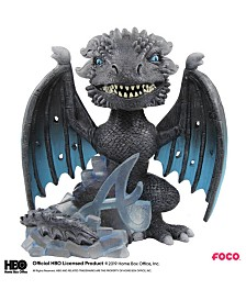 Forever Collectibles Atlanta Braves Game Of Thrones Ice Dragon Bobblehead