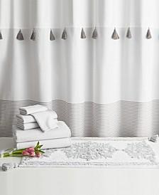 Home Panama Stripe 8-Pc. Bath Kit