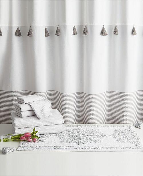 Peri Home Panama Stripe 8-Pc. Bath Kit
