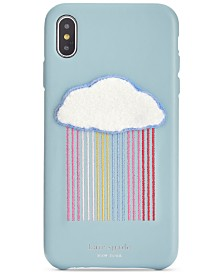 kate spade new york Rainbow Cloud Patch iPhone XR Case
