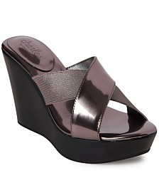 Charles by Charles David Fuzho Wedge Sandals