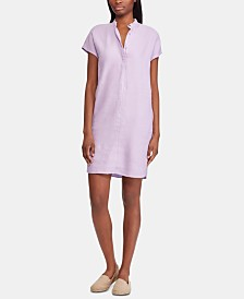 Lauren Ralph Lauren Short-Sleeve Shift Dress
