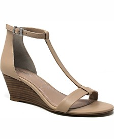 Charles by Charles David Georgette Wedge Sandals