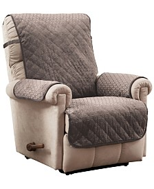 P/Kaufmann Home Prism Secure Fit Recliner Furniture Cover Slipcover