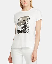 Lauren Ralph Lauren Graphic-Print T-Shirt