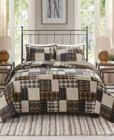 Timber Full/Queen 3-Pc. Reversible Printed Coverlet Set