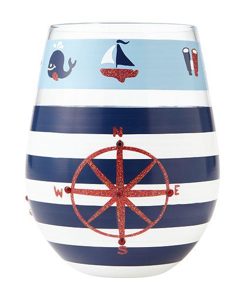 Enesco Lolita Maritime Wine Glass