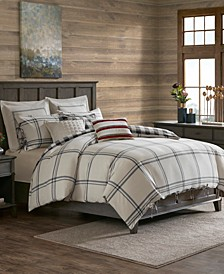 Signature Willow Oak 8-Pc. Reversible Cotton Comforter Sets