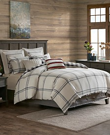 Madison Park Signature Willow Oak 8-Pc. Reversible Cotton Comforter Sets