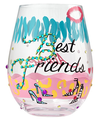 Lolita Friends Wine Glass   Set Of 2 by General