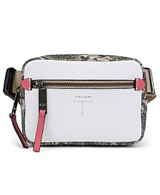 T Tahari Krystal Camera Belt Bag