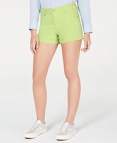 c6e76c760 Celebrity Pink Juniors' Cuffed Denim Shorts