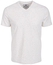 Men's Speckled V-Neck T-Shirt, Created for Macy's