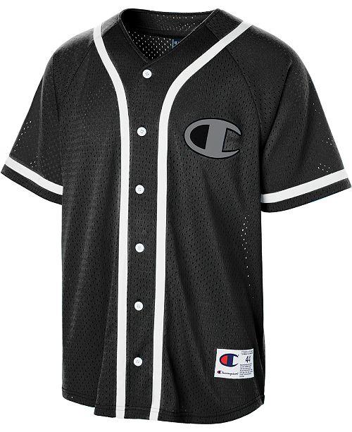 hot sales bcf47 8e4a8 Men's C-Life Mesh Baseball Jersey