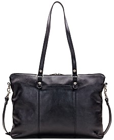 Patricia Nash Heritage Triora Leather Tote