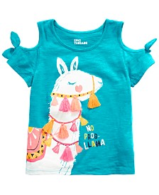 Epic Threads Little Girls Tassel-Trim Graphic-Print T-Shirt, Created for Macy's