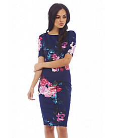 AX Paris Short Sleeved Floral Dress