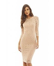 AX Paris Crochet Bodycon Dress