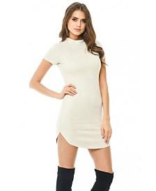 AX Paris Faux Suede Bodycon Mini Dress