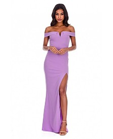 AX Paris Off the Shoulder Maxi Dress