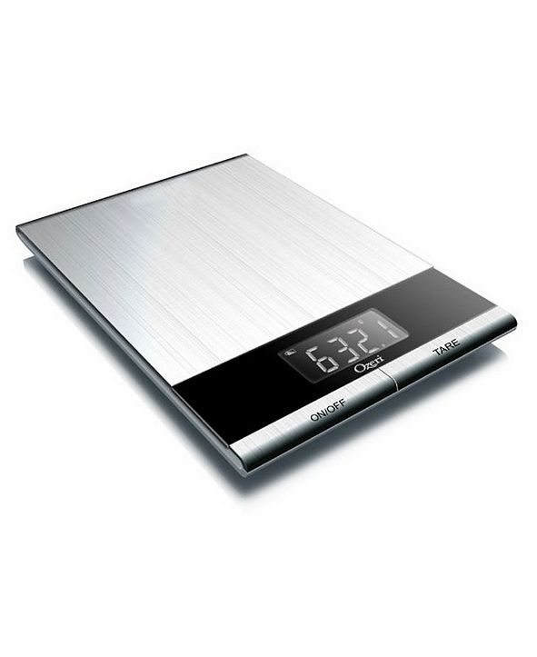 Ozeri Ultra Thin Stainless Steel Kitchen and Diet Scale