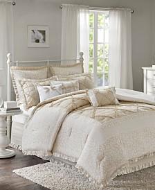 Madison Park Mindy Cotton 9-Pc. California King Comforter Set