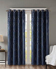SunSmart Mirage Knit Damask Total Blackout Curtain Collection