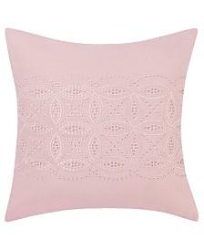 "Laura Ashley Annabella Pastel Pink 16"" Throw Pillow"