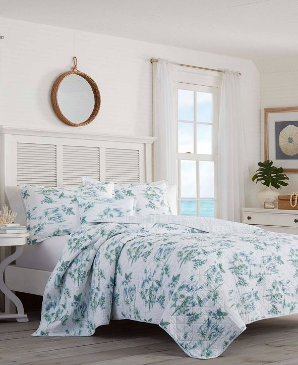 Tommy Bahama Home Tommy Bahama Sailaway Full/Queen Quilt