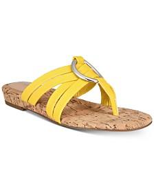Alfani Women's Carrle Flat Sandals, Created for Macy's