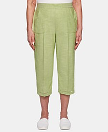 Santa Fe Utility-Pocket Capri Pants