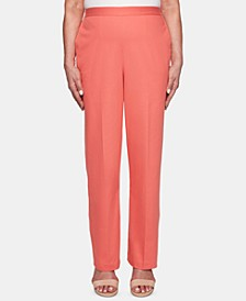 Coastal Drive Straight-Leg Pants