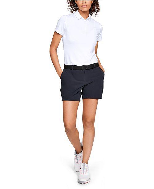 6df800f0 Under Armour Women's Zinger Short Sleeve Golf Polo & Reviews - Tops ...