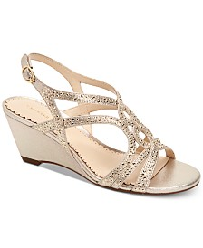 Charter Club Women's Kelsah Wedge Sandals, Created for Macy's
