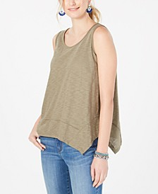 Handkerchief-Hem Tank Top, Created for Macy's