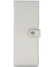 Patricia Nash Woven Marotta Leather Card Case